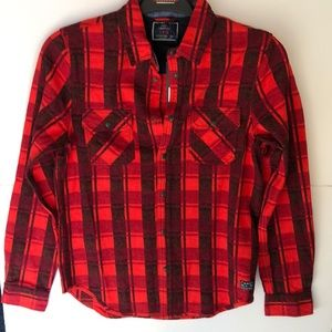 Scotch&Soda red  flannel Shirt